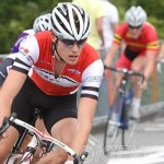 Gouden Pijl cycle race in Emmen, Paul finishes first