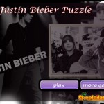 casual games Justin Bieber Puzzle