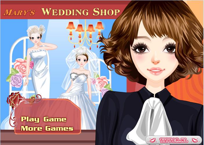 Bridal dress shop games for Wedding dress games online