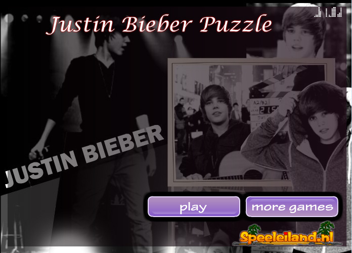 Justin Bieber Puzzle